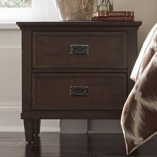 Darby Home Co Abe 2 Drawer Nightstand