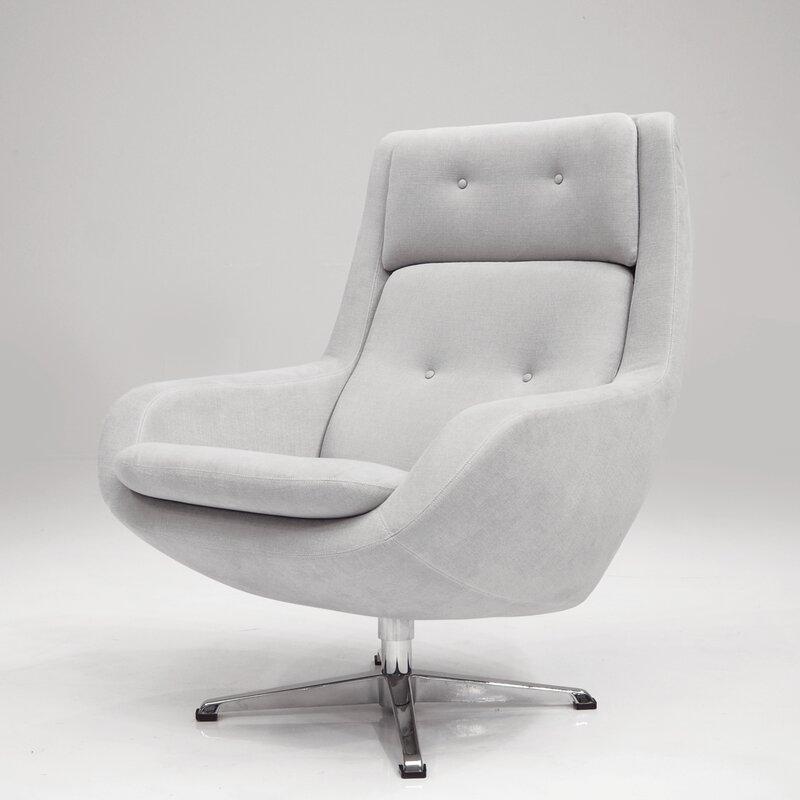 Corrigan Studio Oscar Swivel Lounge Chair Wayfair
