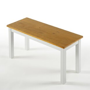 Pfarr Wood Bench By Brayden Studio