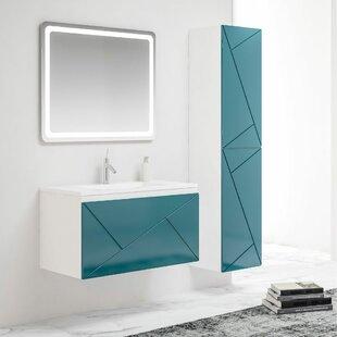 Price Sale Remus 1000mm Wall Hung Single Vanity