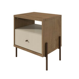 Turn on the Brights Alviso 1 Drawer Nightstand