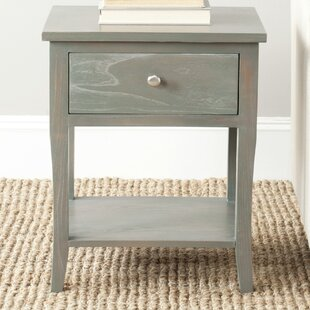 Alayna End Table With Storage by August Grove