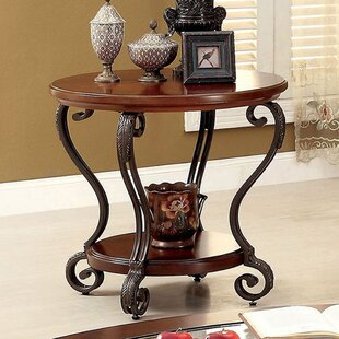 General End Table by Fleur De Lis Living