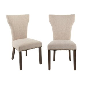 Luxurious Fabric Side Chair (Set of 2) by Merax