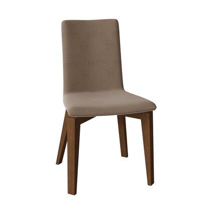 Surprising Avey Parsons Chair Brayden Studio Body Fabric Ramie Leg Lamtechconsult Wood Chair Design Ideas Lamtechconsultcom