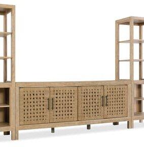 Wabi Sabi Woven Door 74 TV Stand by Hooker Furniture