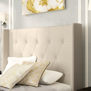 Clearance Filmore Upholstered Wingback Headboard by Willa Arlo Interiors
