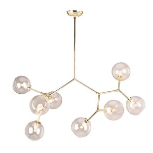 Langley Street Larry 8-Light Sputnik Chandelier
