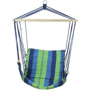 Highland Dunes Blade Striped Chair Hammock