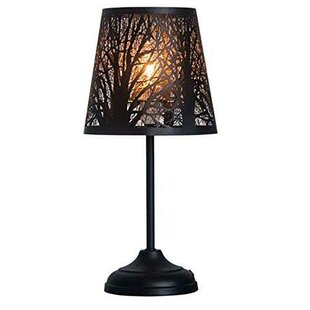 Rustic table lamps youll love earline 15 table lamp aloadofball Gallery