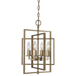 Yarnell 4-Light Foyer Pendant