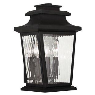 Campfield 3-Light Outdoor Wall Lantern