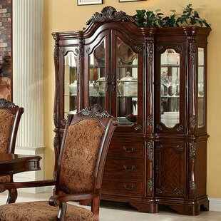 Singer China Cabinet by Astoria Grand