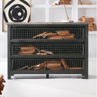 Melange Talia 3 Drawer Dresser