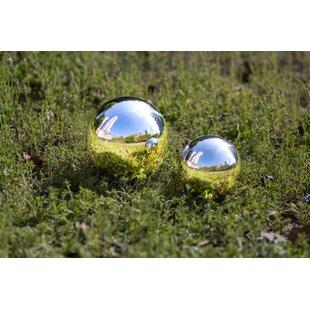 Aristoteles 2 Piece Garden Decor Gazing Globe Set By Sol 72 Outdoor