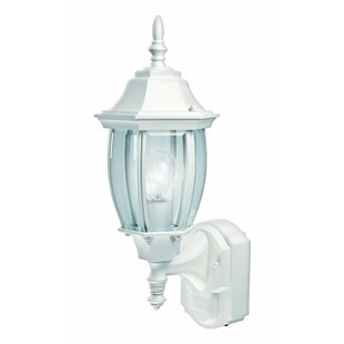 Shopping for Gennessee Coach Aluminum Outdoor Wall Lantern with Motion Sensor By World Menagerie