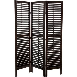 Salcedo 3 Panel Room Divider by Bloomsbury Market