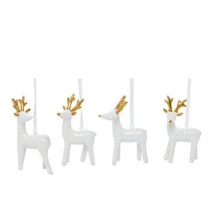Christmas Reindeer Statue Wayfair