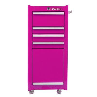 "The Original Pink Box 16""W 4 Drawer Hair Tool Holder The Original Pink Box"