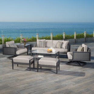 Shoreview 7 Piece Sunbrella Sofa Seating Group with Cushions by Brayden Studio