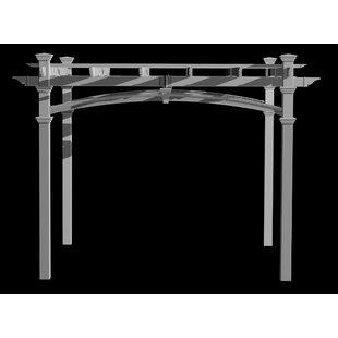 Venetian 10x10 Decorative Arch Kit by New England Arbors