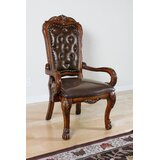 Coulston Arm Chair in Brown by Fleur De Lis Living