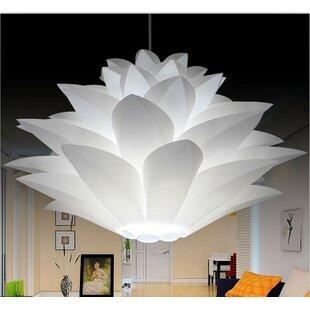 Noble Spark 1-Light Bowl Pendant by California Lighting