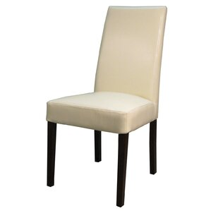 Mercado Bonded Leather Side Chair (Set of 2) by Latitude Run