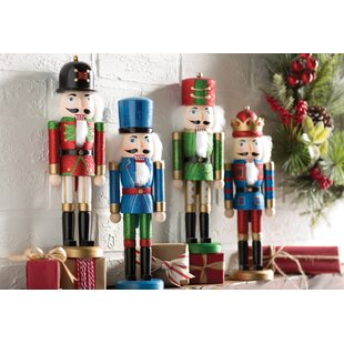 4 piece nutcracker set - Nutcracker Christmas Decorations