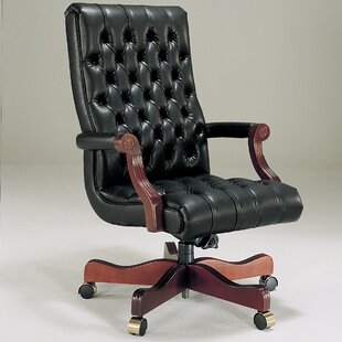 Ergonomic Genuine Leather Executive Chair