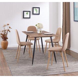 Lavenia Indoor 5 Piece Dining Set by Zipcode Design