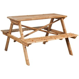 Wooden Picnic Table Image