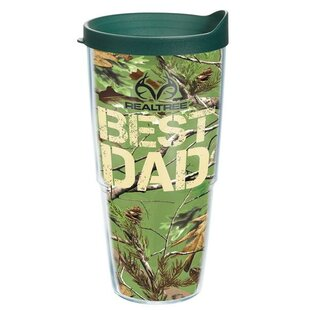 Realtree Best Dad Plastic Travel Tumbler By Tervis Tumbler