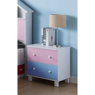 2  Drawer Nightstand by Angelie