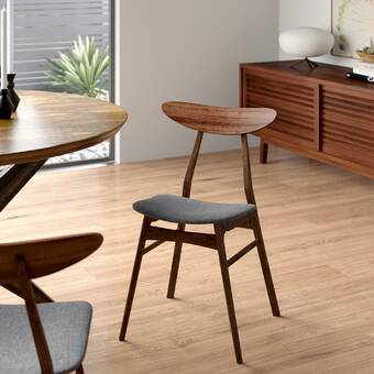Cool Hahn Solid Wood Dining Chair Reviews Allmodern Short Links Chair Design For Home Short Linksinfo