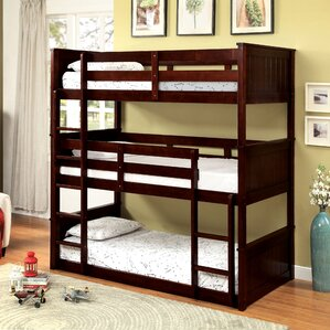Bunk Bed Image triple bunk beds you'll love | wayfair