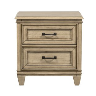 Industry 2 Drawer Nightstand