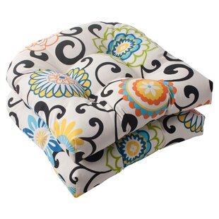 Indoor/Outdoor Seat Cushion (Set of 2) ByLatitude Run