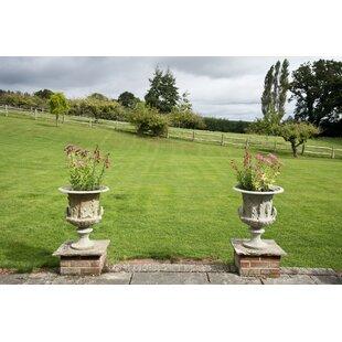 Opalstone Fiberglass Urn Planter By Astoria Grand