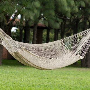 Novica Maya Cotton Tree Hammock