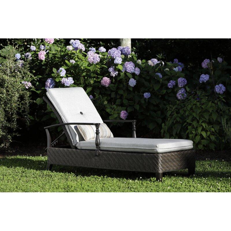 Paula Deen Home Bungalow Adjustable Reclining Chaise Lounge With Cushion Wayfair