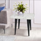 Brucedale Marble Top End Table by Brayden Studio®