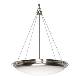 Ebern Designs Nabors 3-Light Bowl Pendant