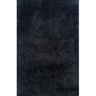 Purchase Albritton Hand-made Black Area Rug ByLatitude Run