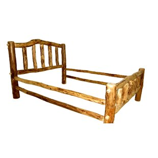 Mountain Woods Furniture Rustic Arts® Platform Bed