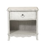 Mauricio 1 Drawer Bedside Table by Ophelia & Co.