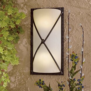 Conchita 1-Light Outdoor Flush Mount