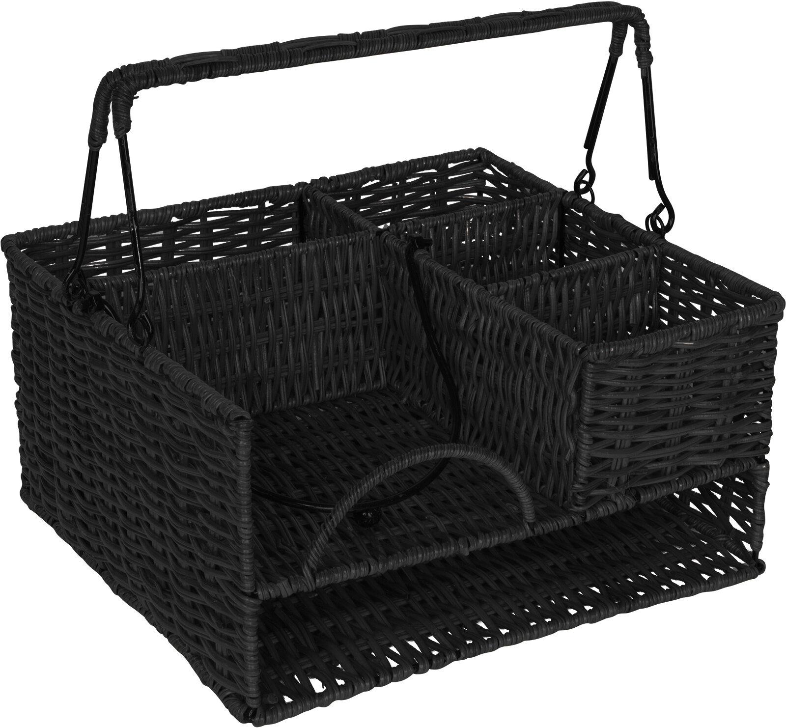 Gentil Trademark Innovations Rattan Tabletop Caddy U0026 Reviews | Wayfair