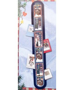 Snowman Wall Hanging Christmas Card Holder Pack Of 144 Set