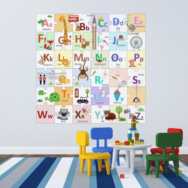 Marvelous London Alphabets Puzzle Wall Decals